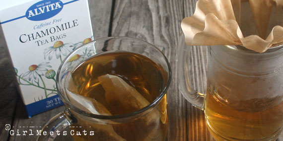 Chamomile Tea Bags For Dogs Eyes